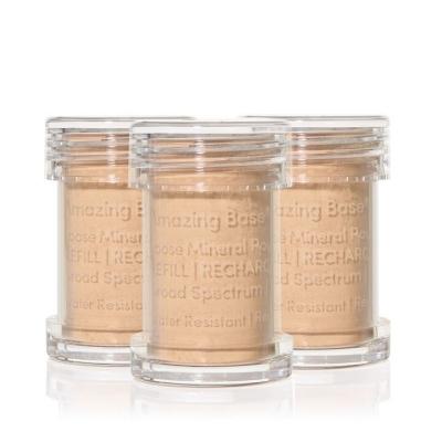 Сменные блоки (рефилы) рассыпчатой основы Jane Iredale Amazing Base® для кисти-контейнера - Honey Bronze 0