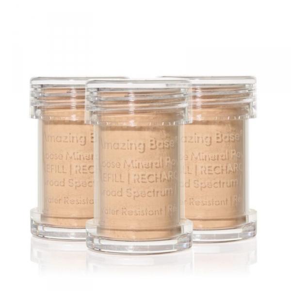 Сменные блоки (рефилы) рассыпчатой основы Jane Iredale Amazing Base® для кисти-контейнера - Honey Bronze