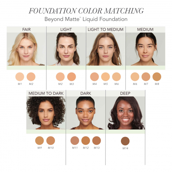 Матирующая основа Jane Iredale Beyond Matte™ Liquid Foundation M9 2