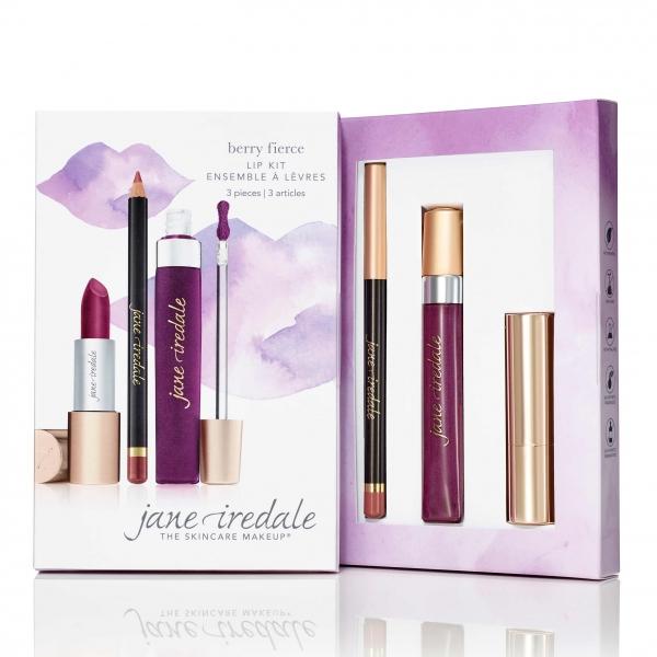Лимитированный выпуск: Набор для губ Jane Iredale Limited Edition Lip Kit Berry Fierce