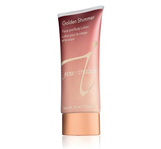Крем-гель для лица и тела Jane Iredale Golden Shimmer Face and Body Lotion
