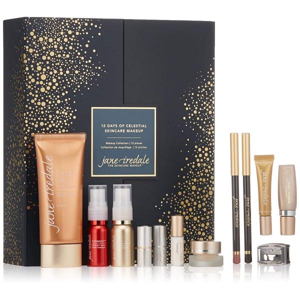 Праздничный набор Jane Iredale 12 Days of Celestial Skincare Makeup Collection