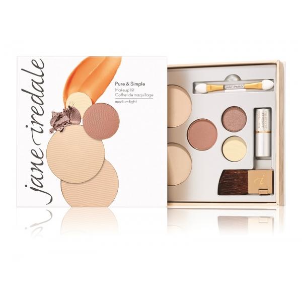 Набор круизный Pure & Simple Makeup Kit Средне-светлый тон / Medium Light