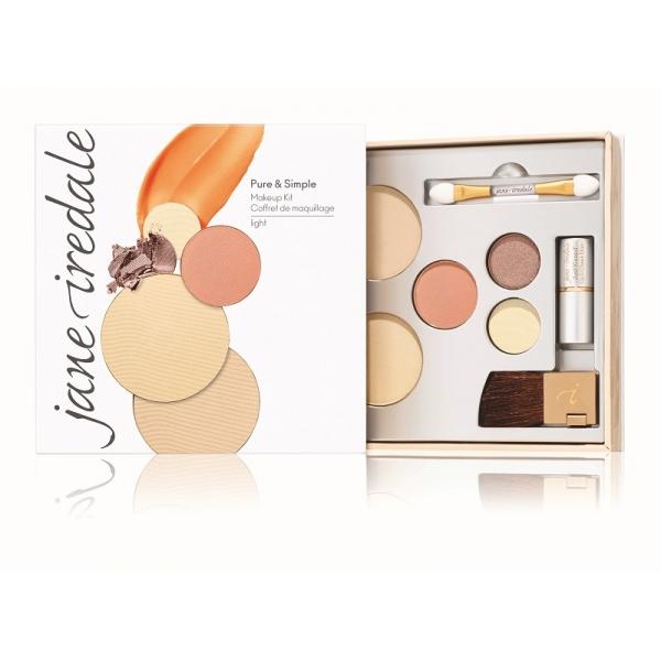 Набор круизный Pure & Simple Makeup Kit Светлый тон / Light