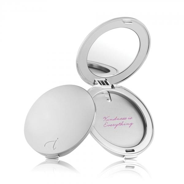 Refillable Compact Silver
