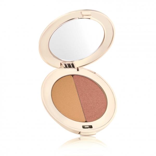 Двойные тени для век Jane Iredale PurePressed® Eye Shadow Duo Golden / Peach