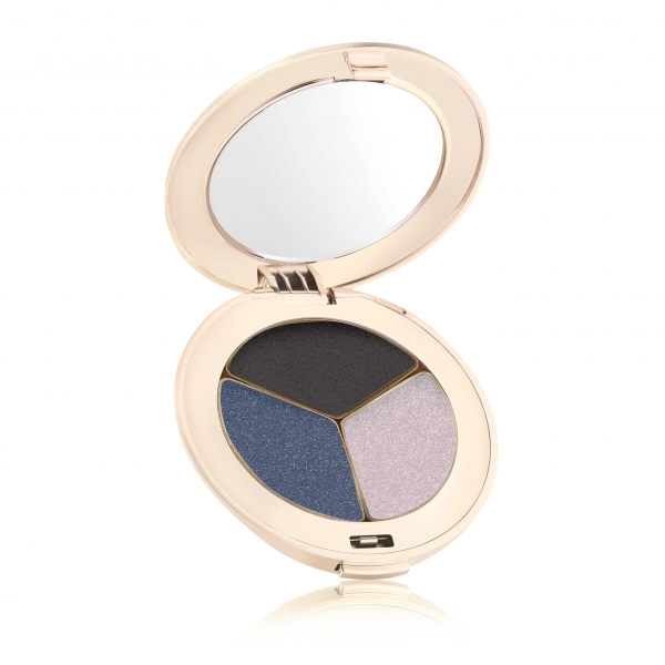 Тройные тени Jane Iredale PurePressed® Eye Shadow Triple Blue Hour