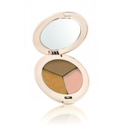 Тройные тени Jane Iredale PurePressed® Eye Shadow Triple Golden Girl