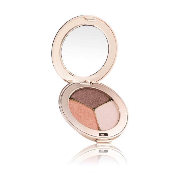 Тройные тени Jane Iredale PurePressed® Eye Shadow Triple Pink Quartz